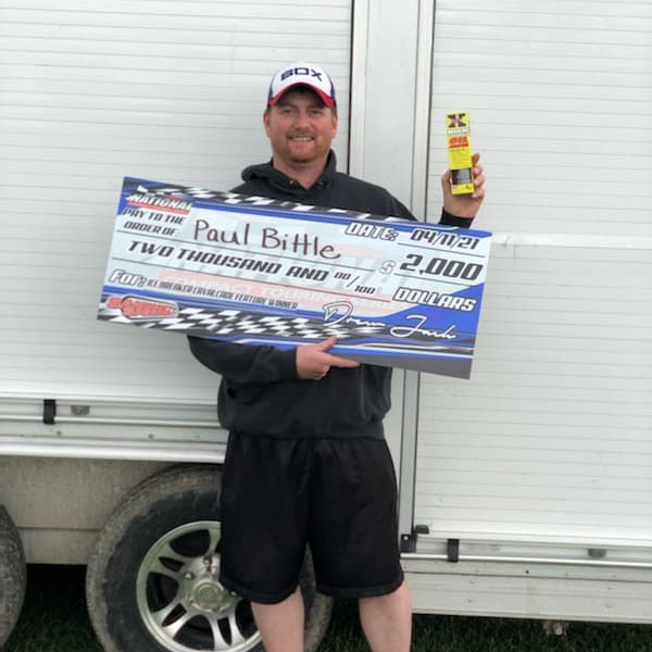 Paul Bittle Winner Sandusky Speedway